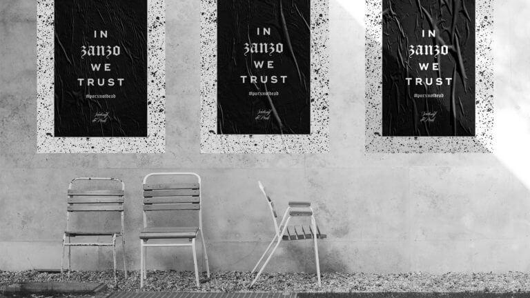 Plakat von Sciatonöff dü Punk - Winepunk Marco Zanetti, Italien - Design der Etiketten, Logo und Branding, Weinmarketing von der Designagentur Yummy Stories