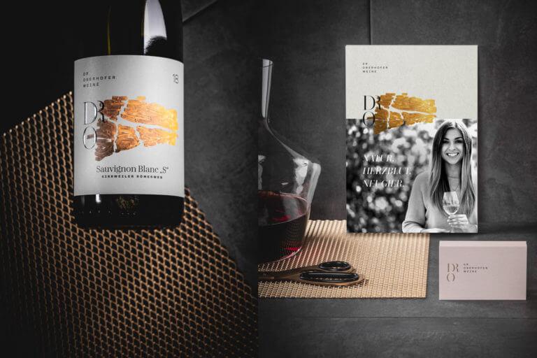 Design der Weinetiketten und Branding für das Weingut aus Kirrweiler (Pfalz) von der Designagentur Yummy Stories