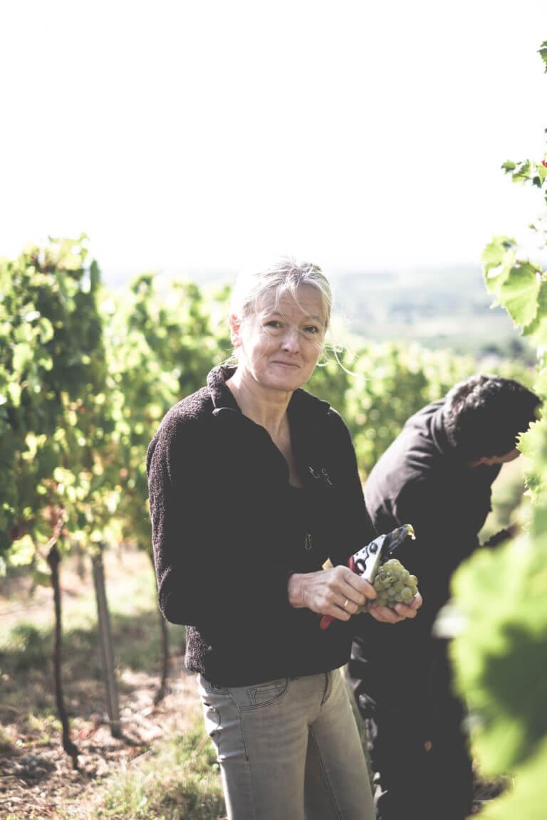 Ulrike Stübinger - Weingut Stübinger Leinsweiler Pfalz– Foto von Oliver Semik - Designagentur Yummy Stories