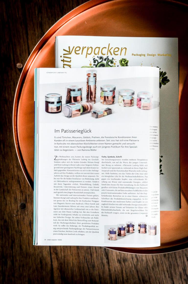 Yummy Stories Artikel Creativ Verpacken Pâtisserie Ludwig