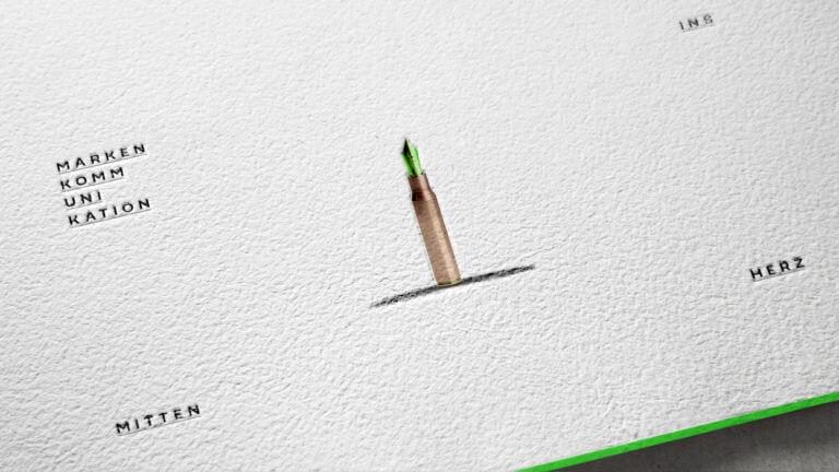 Green Bullet Branding, Grafikdesign, Corporate Design, Design von der Designagentur Yummy Stories
