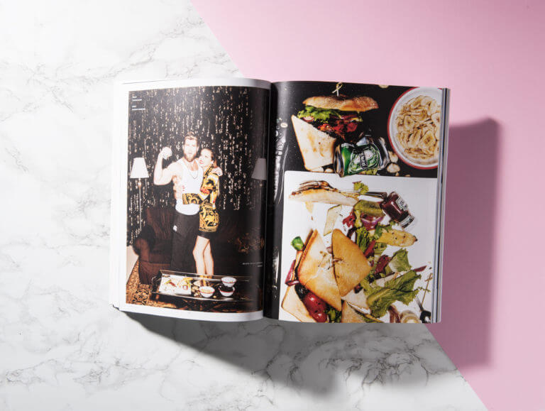 Editorial Design vom Magazin Weiberkram - Magazingestaltung von der Designagentur Yummy Stories
